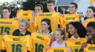 Class of 2016 with their Line jerseys