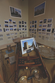 Held photos exhibit, Poage Library