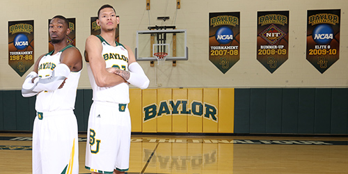 Cory Jefferson and Isaiah Austin