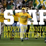 Happy 5th anniversary, President Starr!